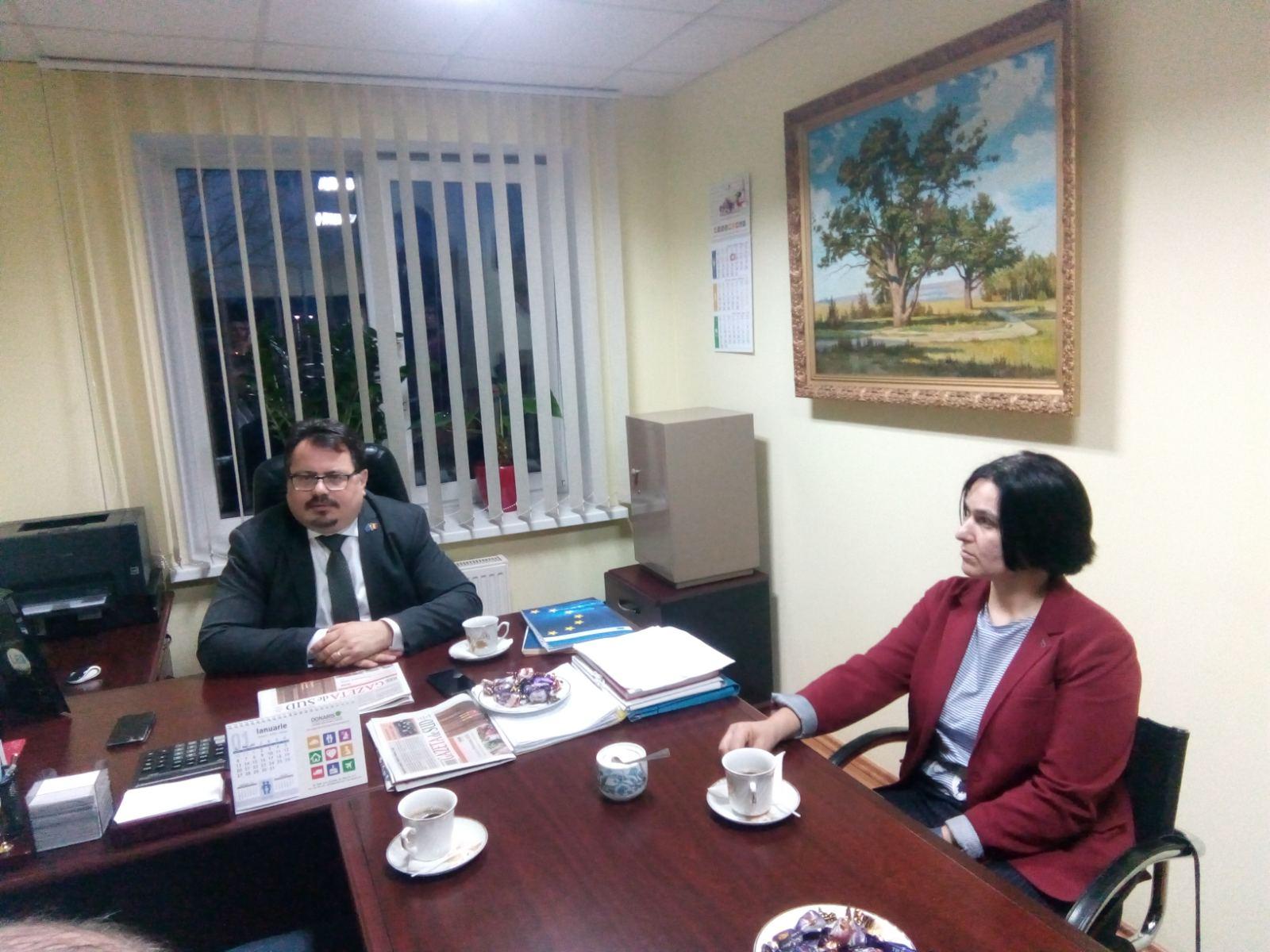 Peter Michalko, în vizită la Cimișlia