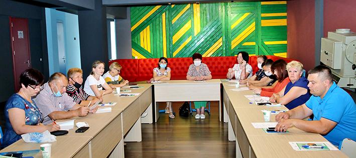 Sesiuni de instruire a Grupului Comunitar de Inițiativă din orașul Cimișlia