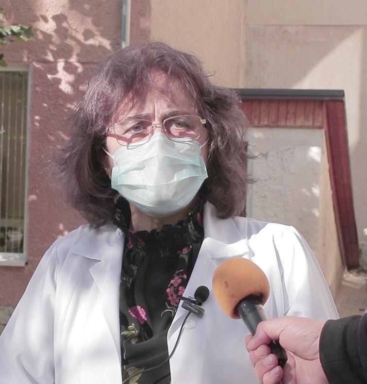 Mariana Florea, directoarea Spitalului Raional Cimișlia
